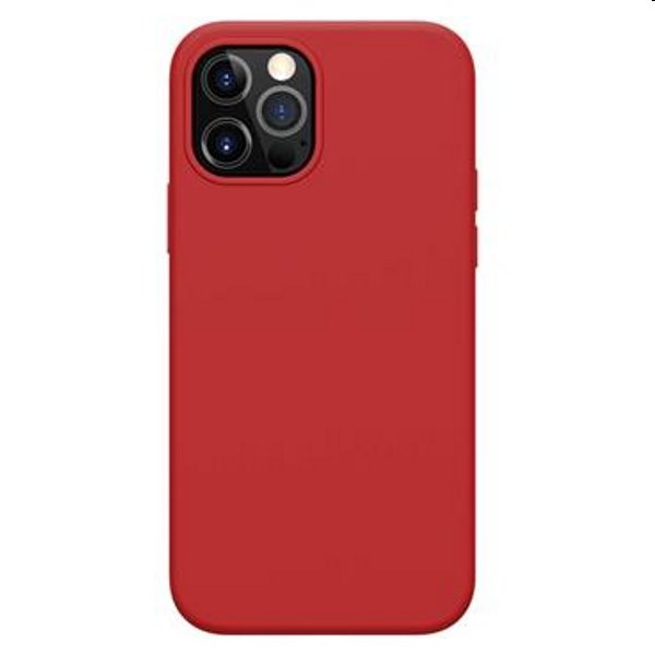 Púzdro Nillkin Flex Pure Pro MagSafe pre iPhone 12/12 Pro, Red