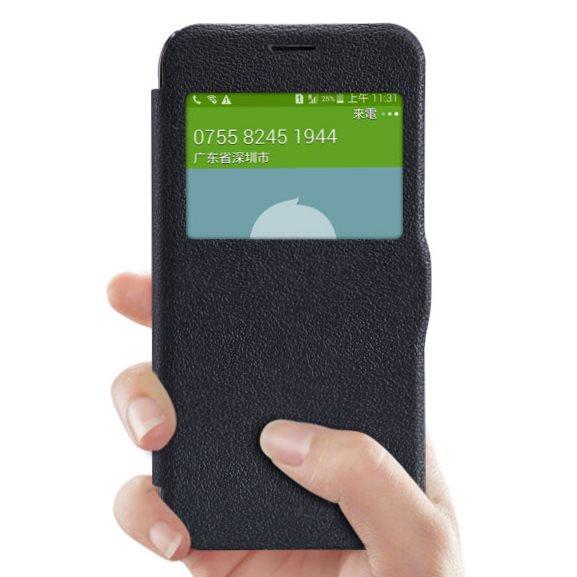 Puzdro Nillkin Fresh Series pre Samsung Galaxy S5 Mini - G800, Black