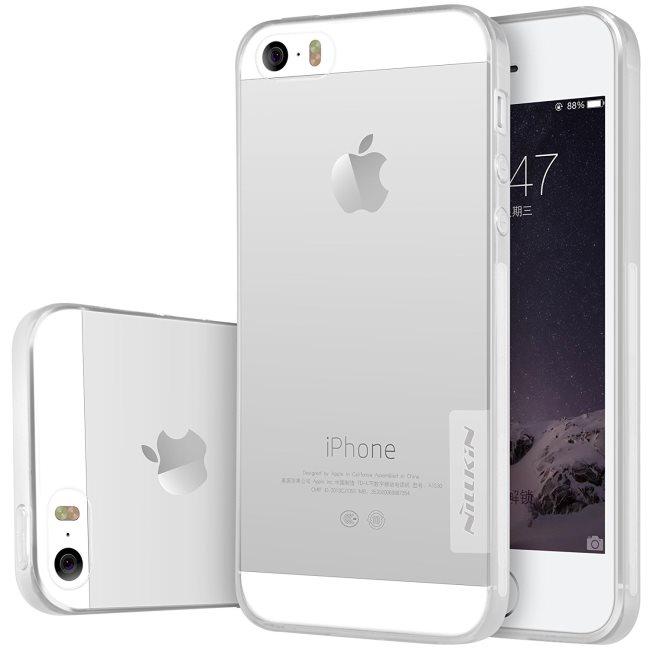 Puzdro Nillkin Nature TPU pre Apple iPhone 5S, Apple iPhone SE, Transparent 6902048116948