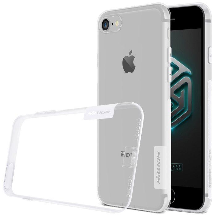 Puzdro Nillkin Nature TPU pre Apple iPhone 7 a iPhone 8, Transparent