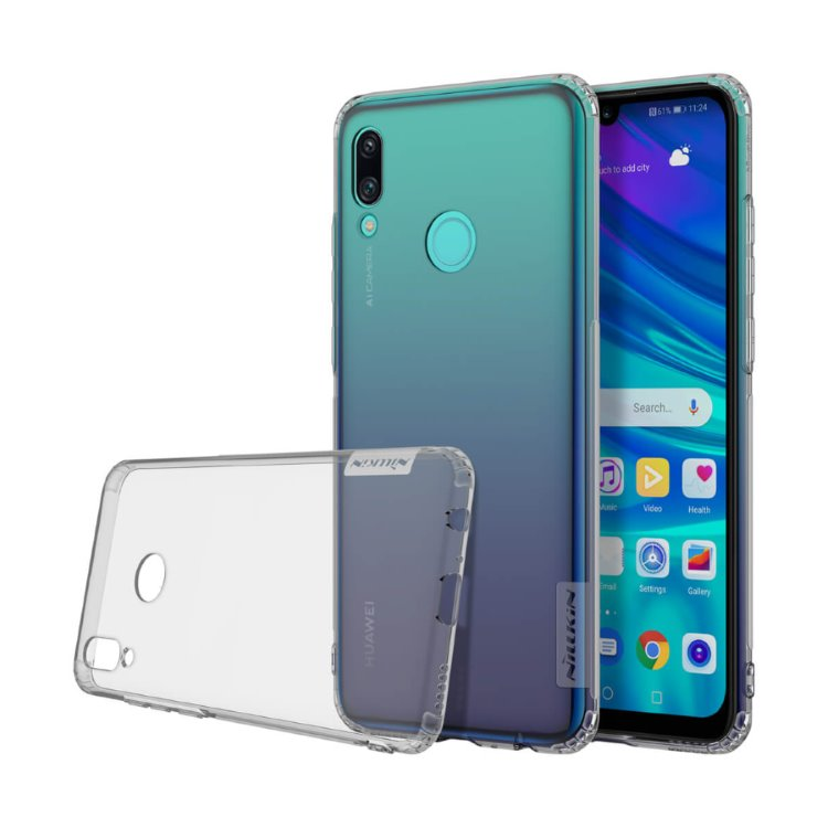 Puzdro Nillkin Nature TPU pre Huawei P Smart 2019, Grey 6902048172050
