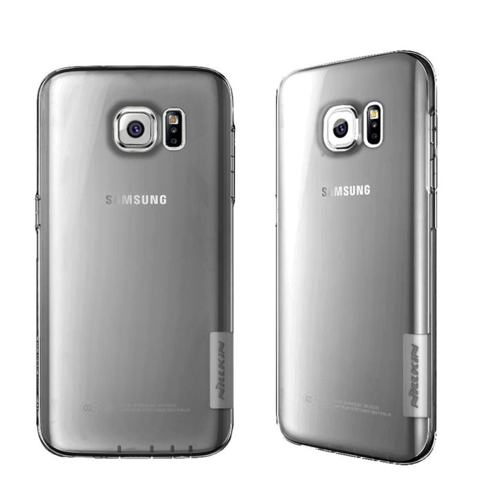 Puzdro Nillkin Nature TPU pre Samsung Galaxy S7 Edge - G935F, Grey