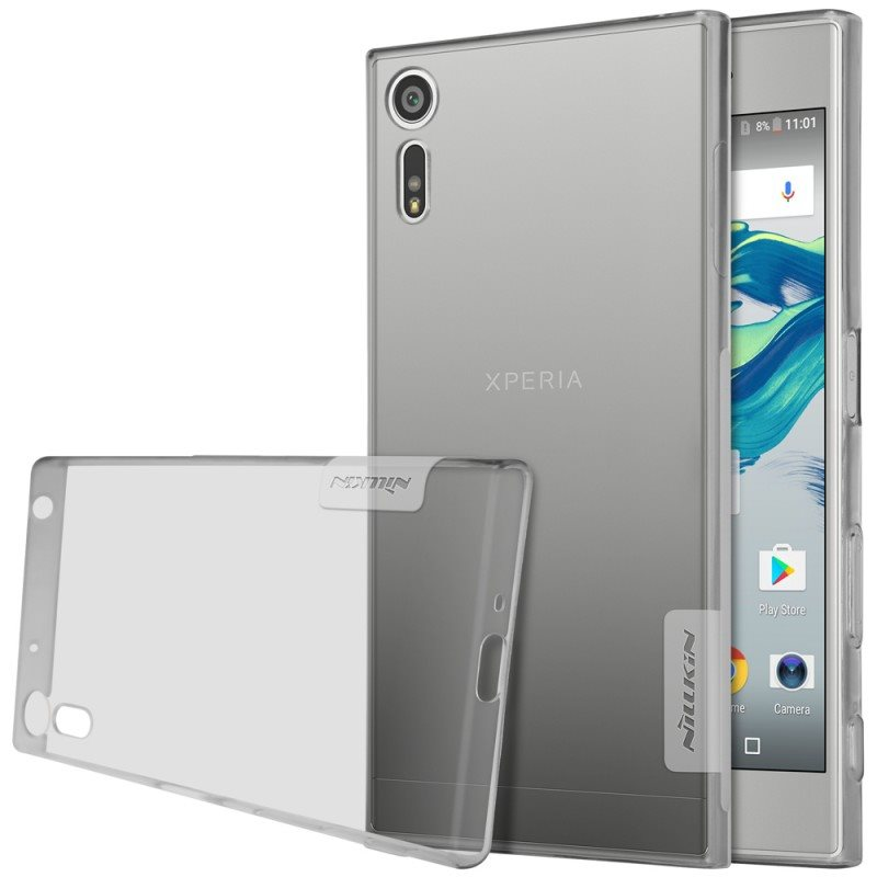 Puzdro Nillkin Nature TPU pre Sony Xperia XZ - F8331, Grey