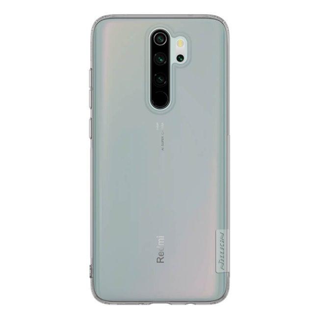 Puzdro Nillkin Nature TPU pre Xiaomi Redmi Note 8 Pro, Grey 2449270