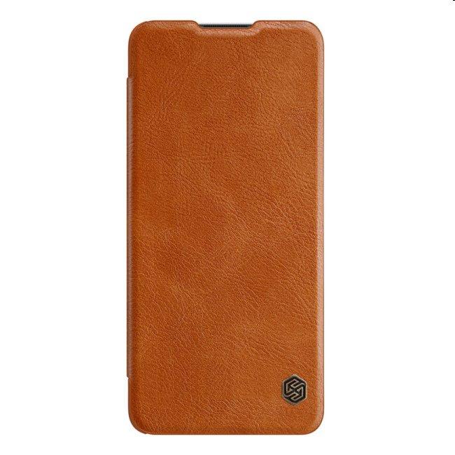 Puzdro Nillkin Qin Book pre OnePlus 8T, hnedé 2455398