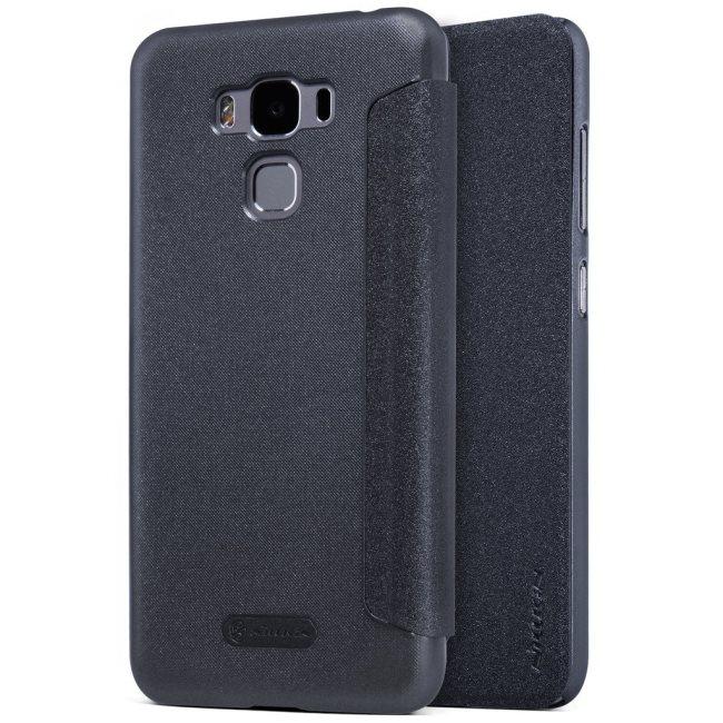 Puzdro Nillkin Sparkle pre Asus ZenFone 3 Max - ZC553KL, Black