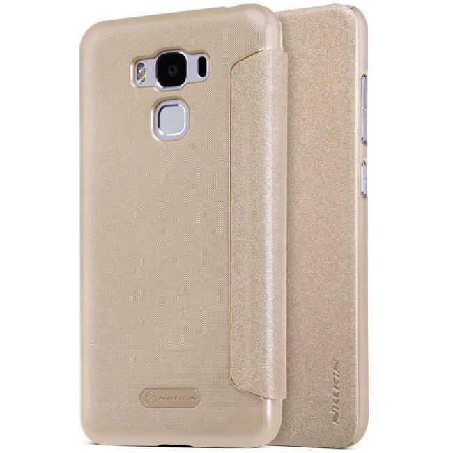 Puzdro Nillkin Sparkle pre Asus ZenFone 3 Max - ZC553KL, Gold