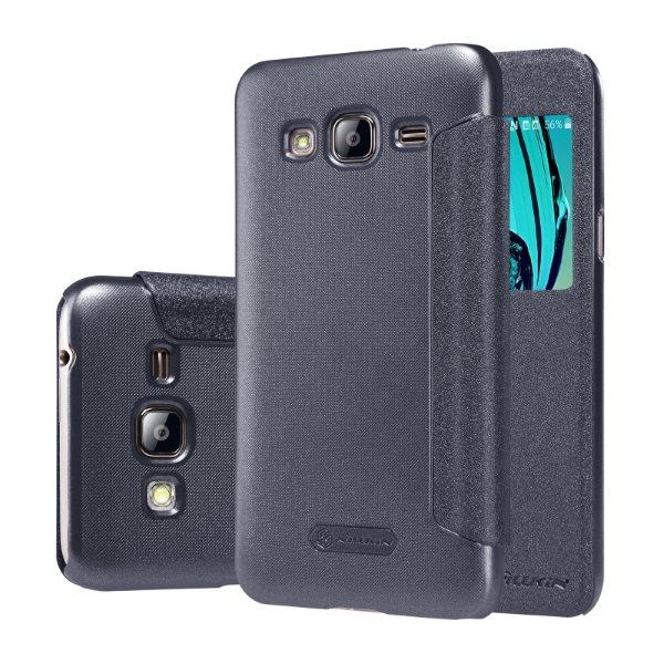Puzdro Nillkin Sparkle pre Samsung Galaxy J3 (2016) - J320F, Black