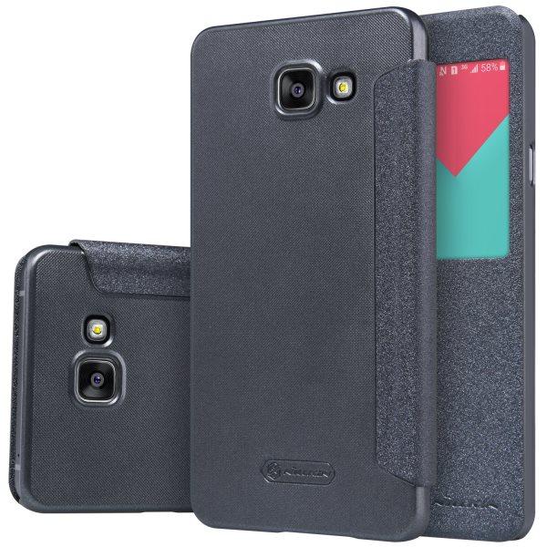 Puzdro Nillkin Sparkle S-View pre Samsung Galaxy A5 2016 - A510F, Black
