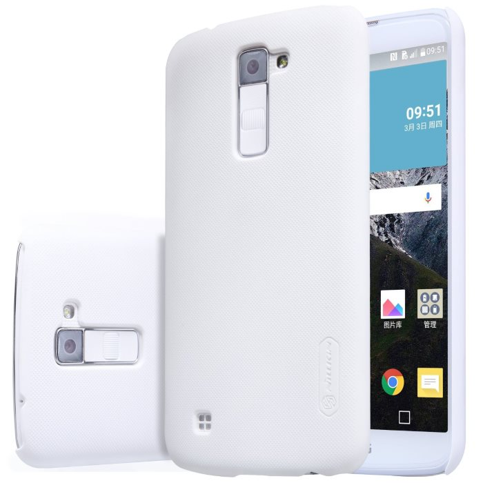 Puzdro Nillkin Super Frosted pre LG K10 - K420N, White