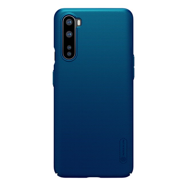Puzdro Nillkin Super Frosted pre OnePlus Nord, modré 2453898