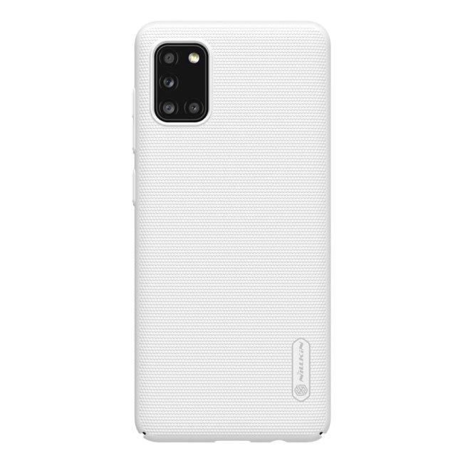 Puzdro Nillkin Super Frosted pre Samsung Galaxy A31, biele 2451955