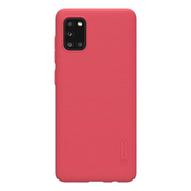 Puzdro Nillkin Super Frosted pre Samsung Galaxy A31, červené 2451954