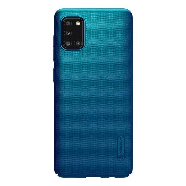 Puzdro Nillkin Super Frosted pre Samsung Galaxy A31, modré 2451956