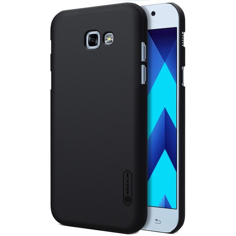 Puzdro Nillkin Super Frosted pre Samsung Galaxy A5 2017 - A520F, Black + ochranná fólia na displej