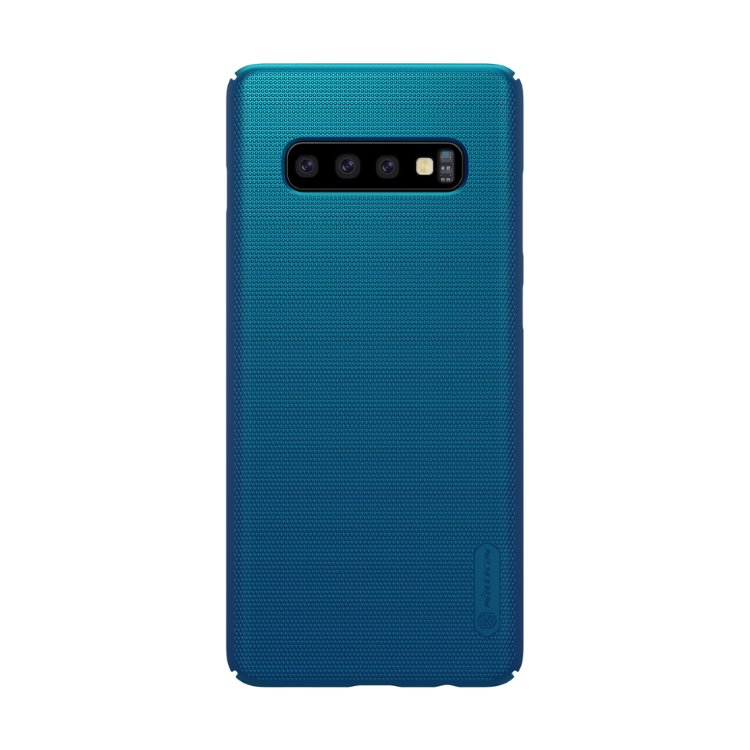 Puzdro Nillkin Super Frosted pre Samsung Galaxy S10 - G973F, Blue