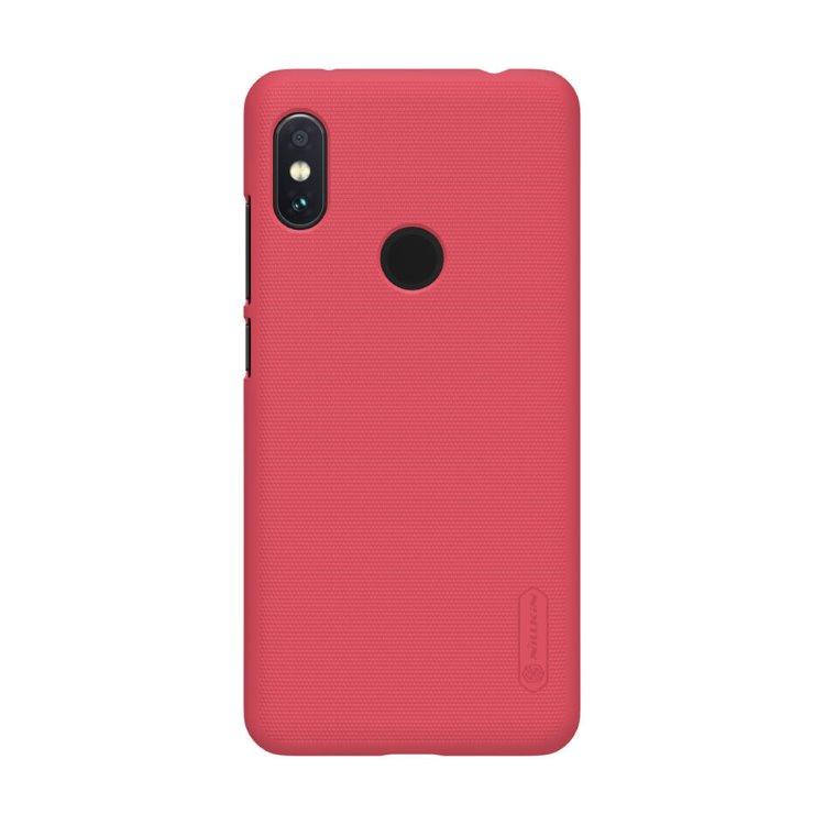 Puzdro Nillkin Super Frosted pre Xiaomi Redmi Note 6 Pro, Red NIL167322