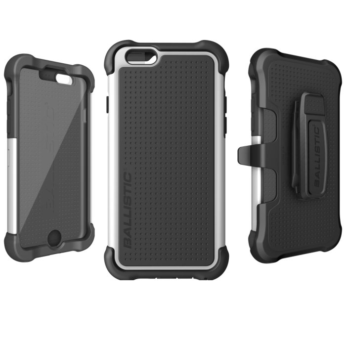 Puzdro odoln� Ballistic Tough Jacket Maxx Series pre Apple iPhone 6 Plus, BlackWhite