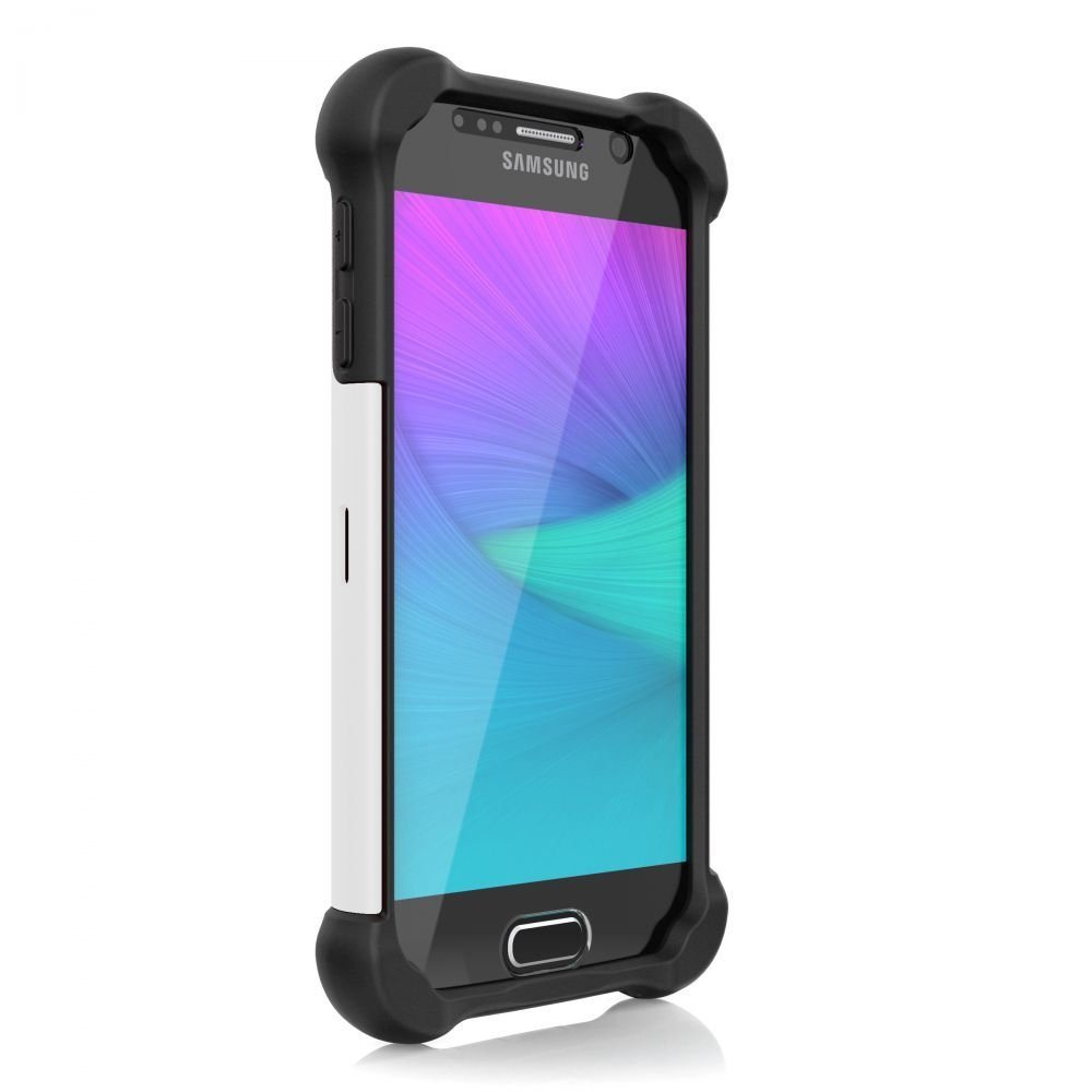 Puzdro odoln� Ballistic Tough Jacket MAXX Series pre Samsung Galaxy S6 - G920F, Black/White
