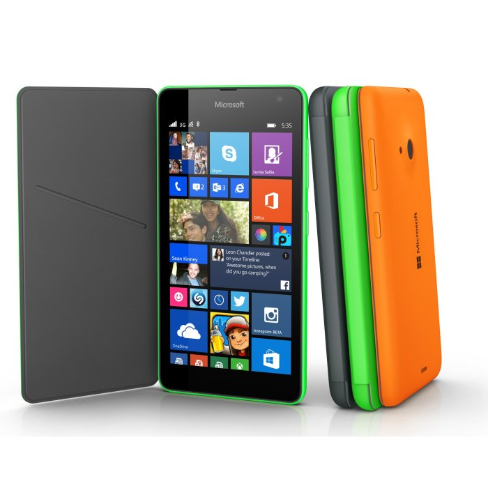 Puzdro originálne CC-3087 pre Microsoft Lumia 535, Green