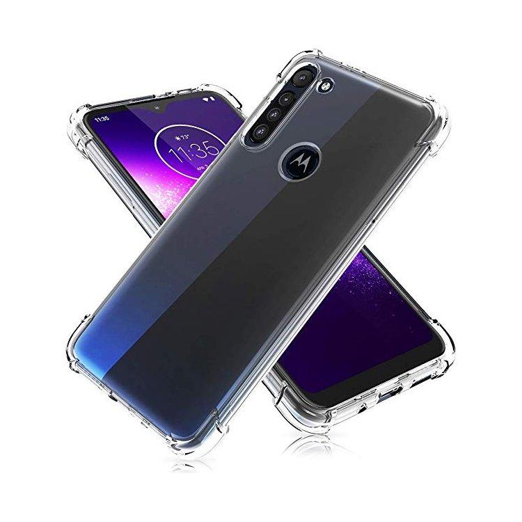 Puzdro originálne Crystal Cover pre Motorola Moto G8 Power Lite, Transparent