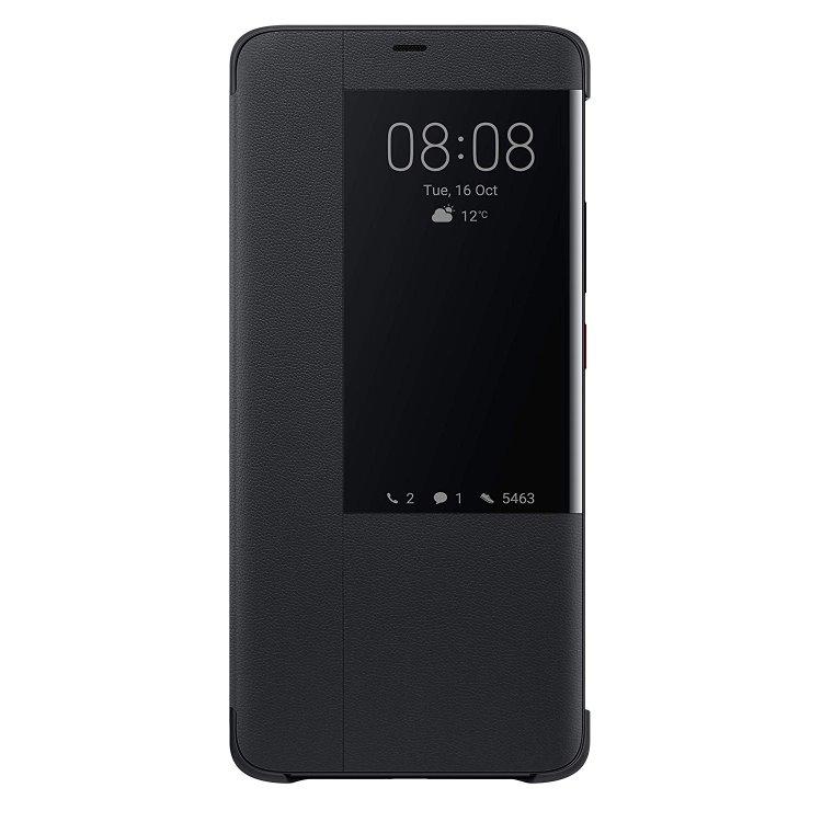 Puzdro originálne Flip Cover pre Huawei Mate 20 Pro, Black