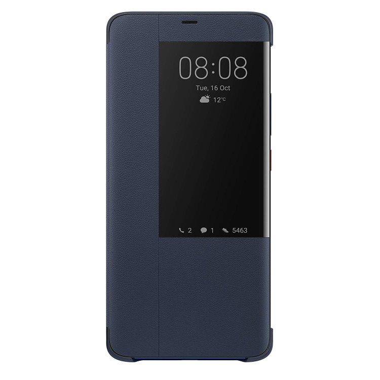 Puzdro originálne Flip Cover pre Huawei Mate 20 Pro, Blue