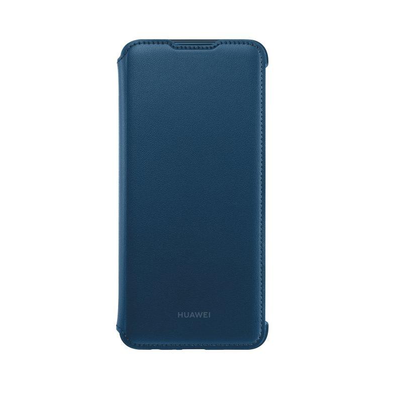 Puzdro originálne Flip Cover pre Huawei P Smart 2019, Blue