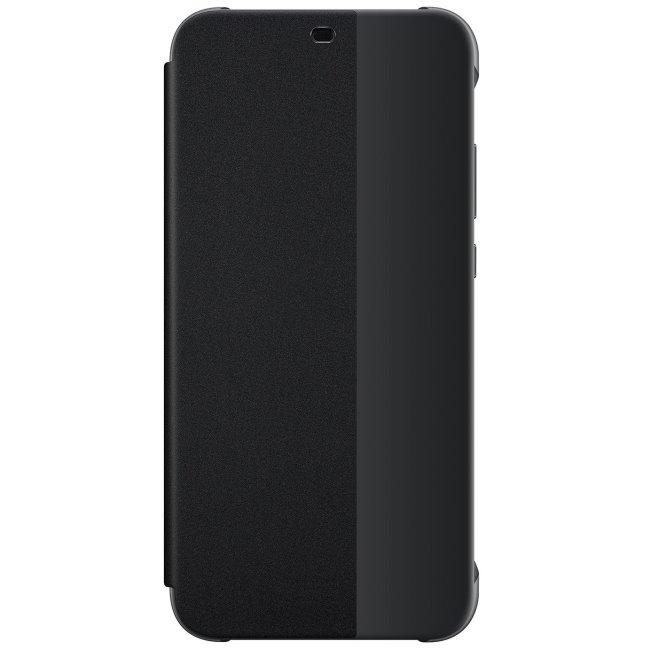 Puzdro originálne Flip Cover pre Huawei P20 Lite, čierna