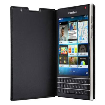 Puzdro origin�lne flip pre BlackBerry Passport, Black