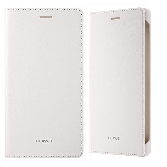 Puzdro originálne Huawei Folio Flip pre Huawei P8 Lite, White