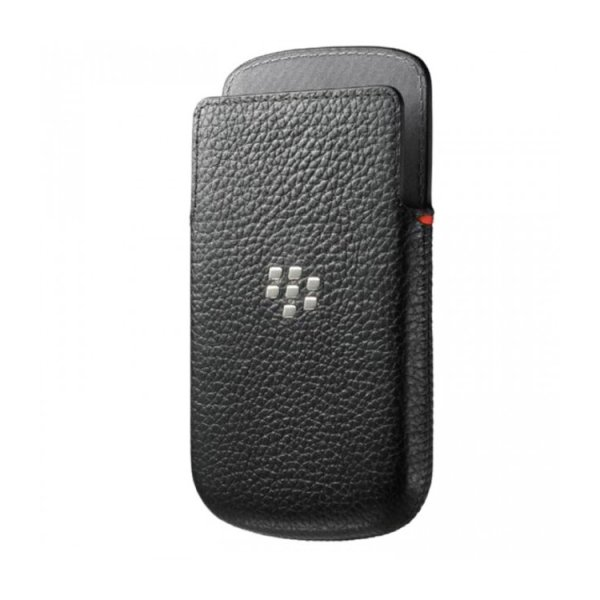 Puzdro origin�lne ko�en� Pocket Style pre BlackBerry Q10, Black