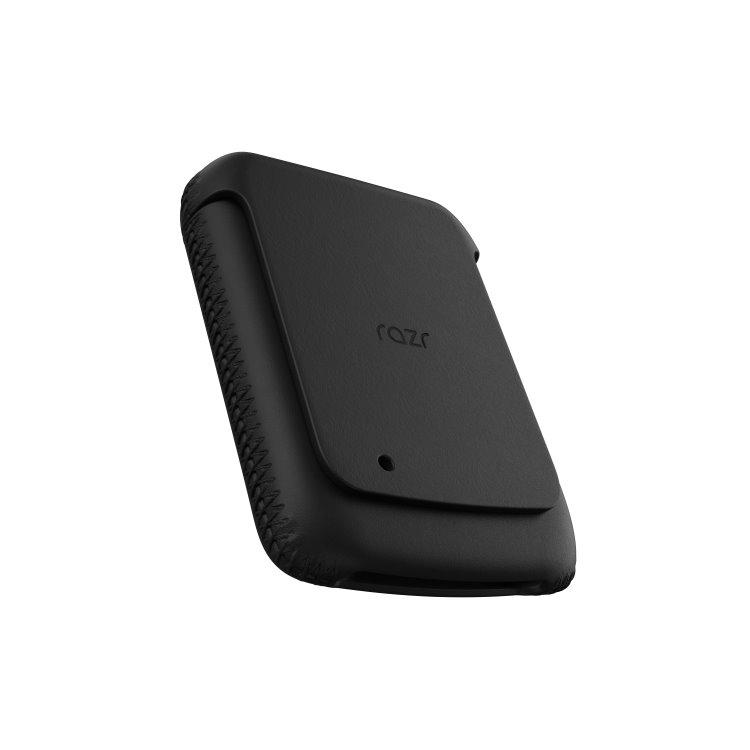Puzdro originálne kožené pre Motorola Razr, Black PG38303002