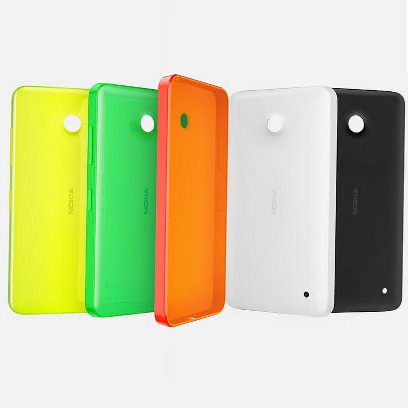Puzdro originálne Nokia CC-3084 pre Nokia Lumia 530, Orange 6907384038541
