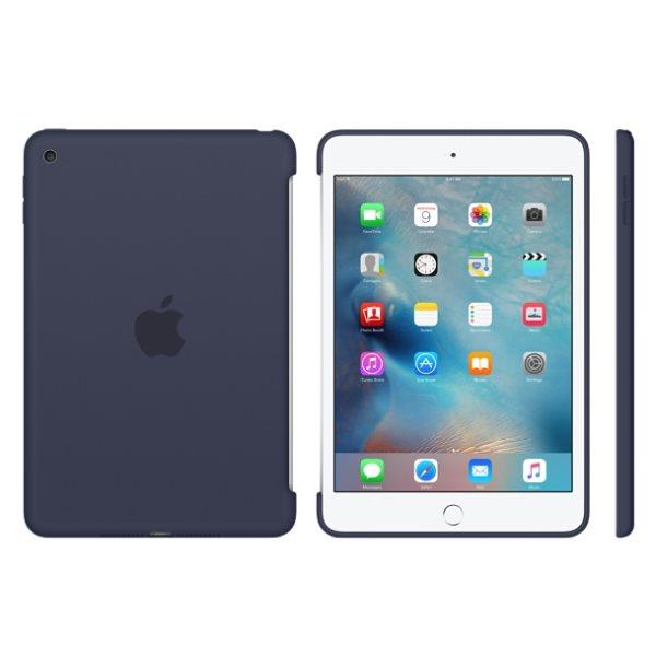Puzdro originálne Silicone Case pre Apple iPad Mini 4, Dark Blue
