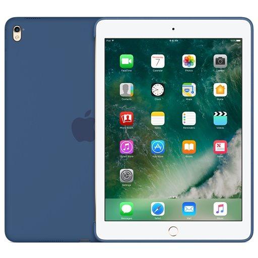 Puzdro originálne Silicone Case pre Apple iPad Pro 9.7, Ocean Blue