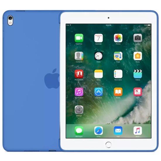 Puzdro originálne Silicone Case pre Apple iPad Pro 9.7, Royal Blue