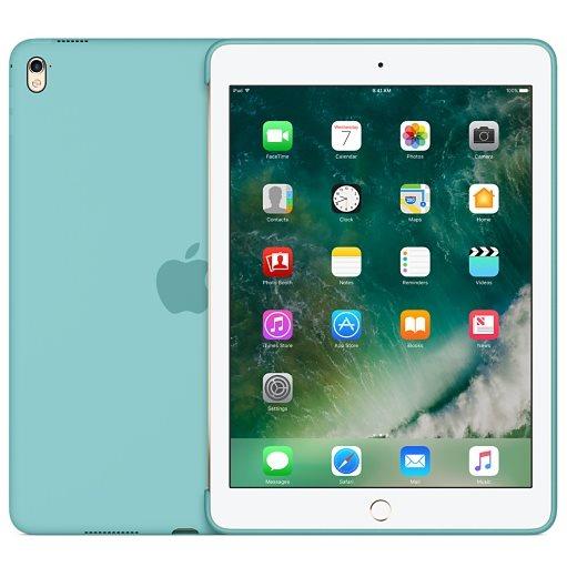 Puzdro originálne Silicone Case pre Apple iPad Pro 9.7, Sea Blue