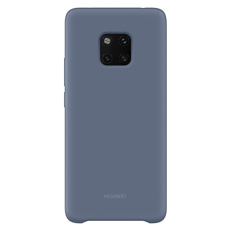 Puzdro originálne Silicone Case pre Huawei Mate 20 Pro, Blue