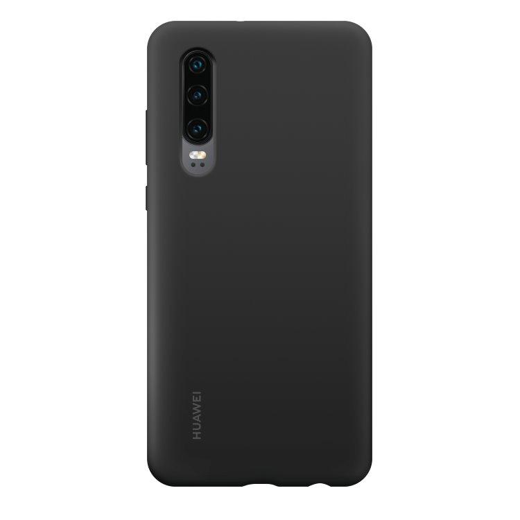 Puzdro originálne Silicone Case pre Huawei P30, Black 51992844