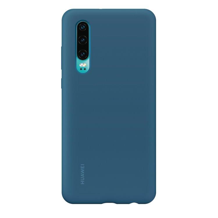 Puzdro originálne Silicone Case pre Huawei P30, Blue 51992850