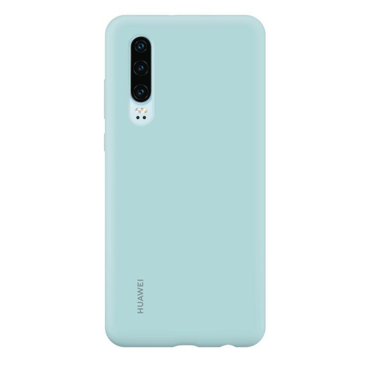 Puzdro originálne Silicone Case pre Huawei P30, Light Blue