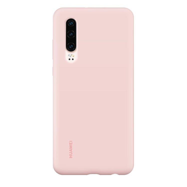 Puzdro originálne Silicone Case pre Huawei P30, Pink