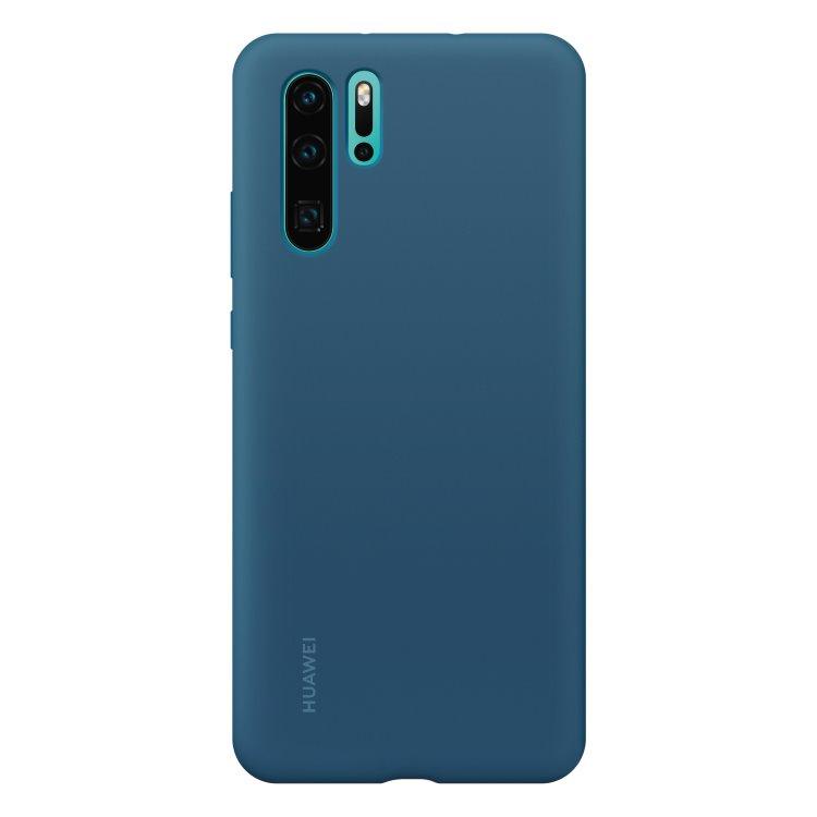 Puzdro originálne Silicone Case pre Huawei P30 Pro, Blue