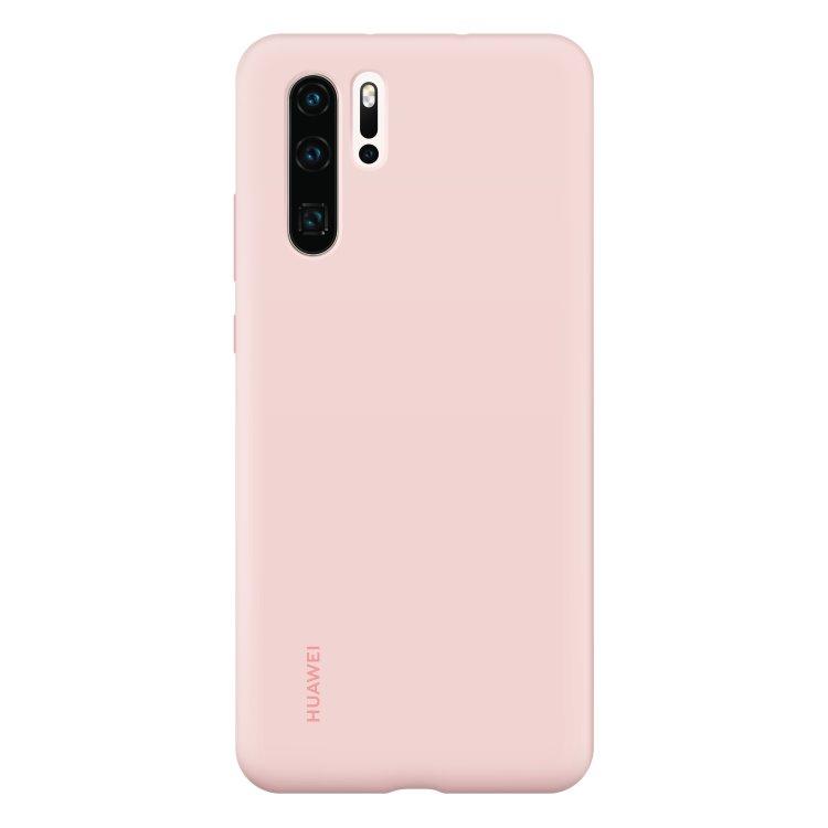 Puzdro originálne Silicone Case pre Huawei P30 Pro, Pink