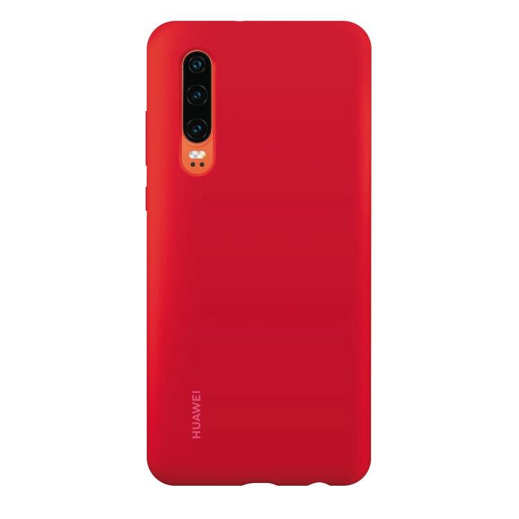 Puzdro originálne Silicone Case pre Huawei P30, Red