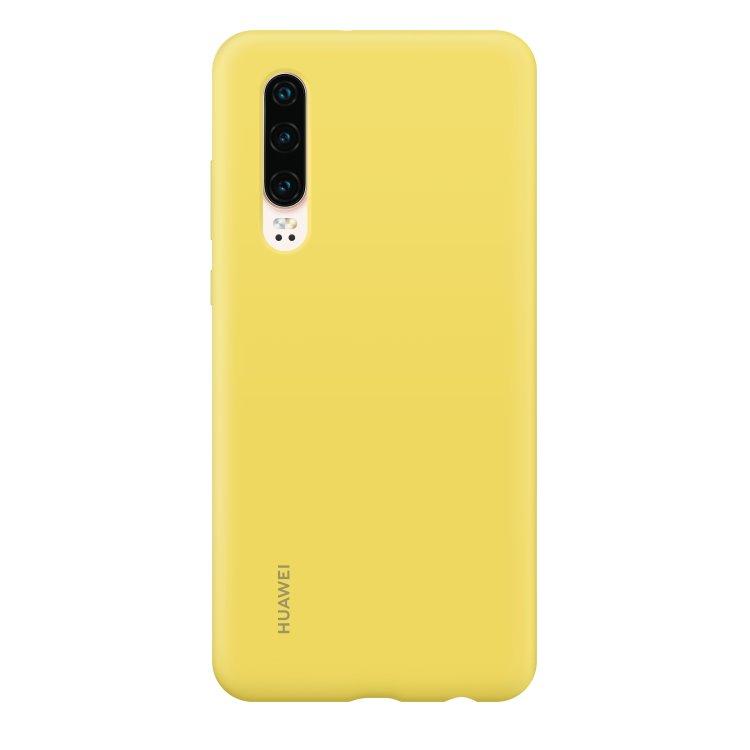 Puzdro originálne Silicone Case pre Huawei P30, Yellow 51992852