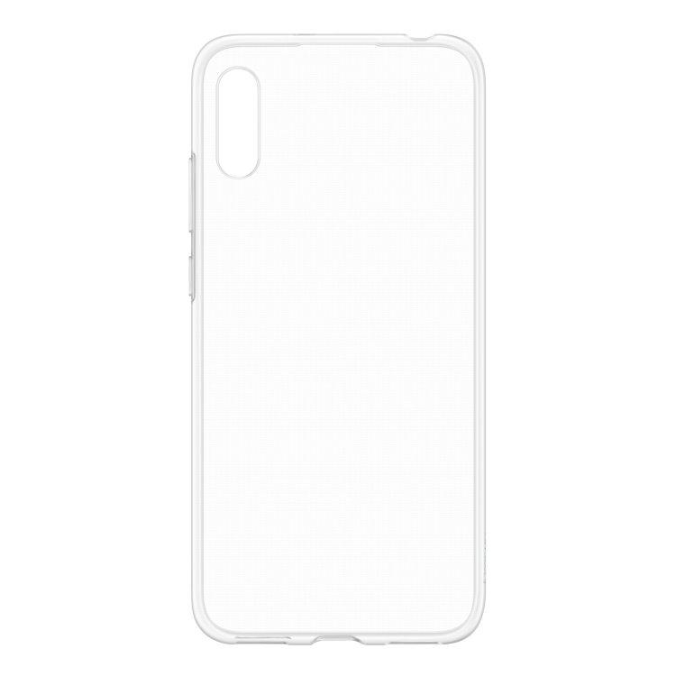 Puzdro originálne TPU Cover pre Huawei Y6 2019, Transparent