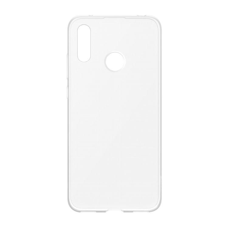 Puzdro originálne TPU Cover pre Huawei Y7 2019, Transparent