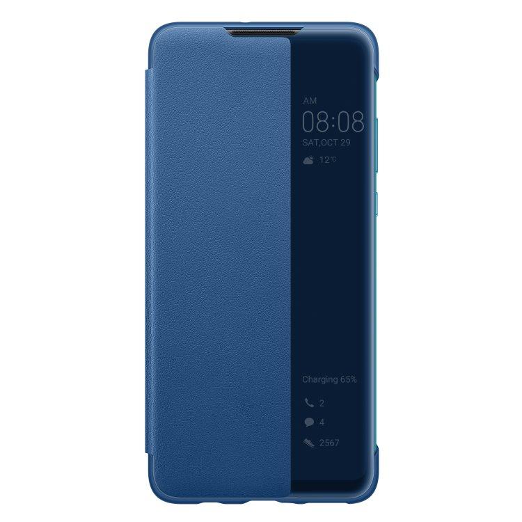 Puzdro originálne Smart View pre Huawei P30 Lite, Blue